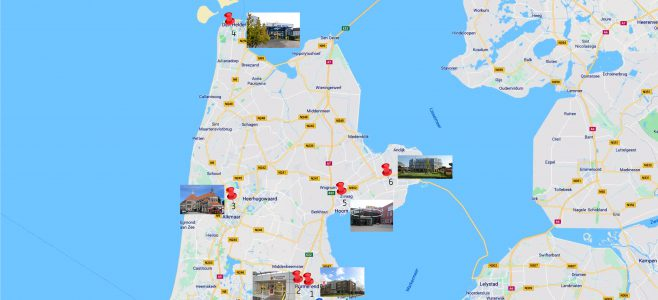 2018 GRZPLUS locaties in Noord-Holland