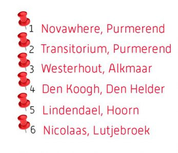 Locaties GRZPLUS in Noord-Holland