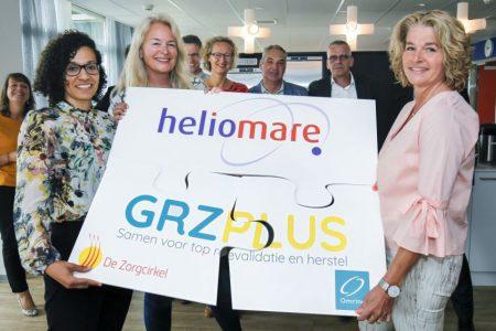 Ondertekening samenwerkingsverband GRZPLUS en Heliomare