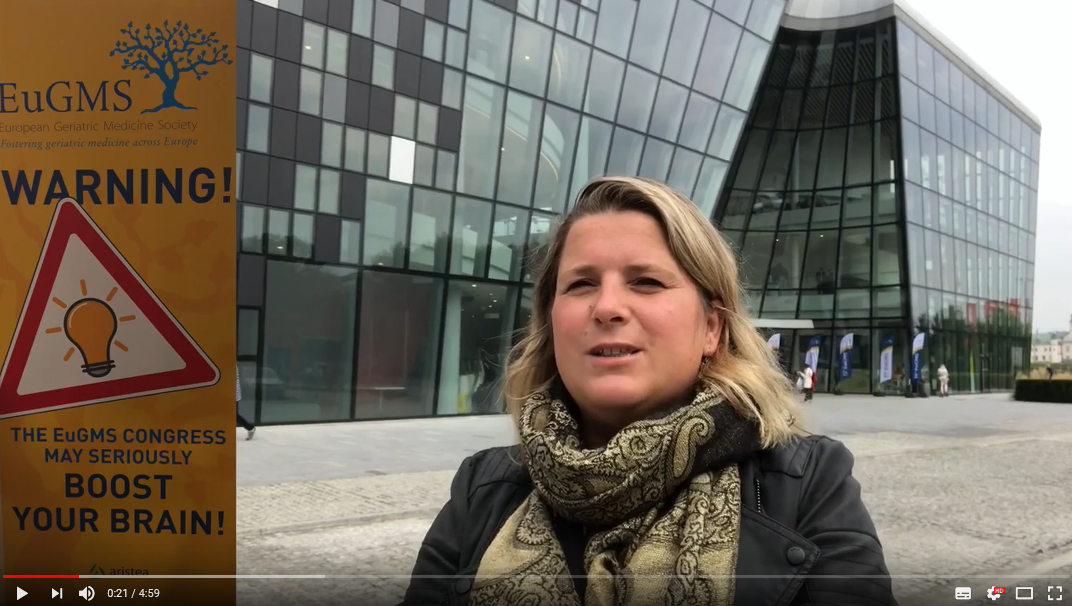 Marije Holstege vlogt over Congres EUGMS