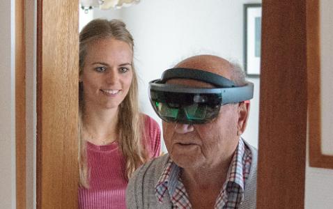 Artikel: Augmented reality spel voor revalidanten met visuospatieel neglect